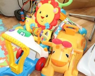 Toddler Ride-On and Push Toys