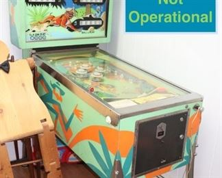 Arcade Game - Lights Up but not Operational