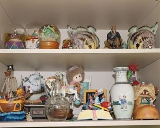 Snow Globes and other Decorative Items