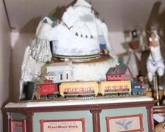 Collie J. Samue; & Co. Piano Music Store - Train