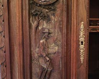 German Bar-hand carved detailing