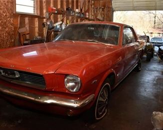 3. 1966 Ford 289 Mustang