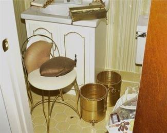 12. Bathroom Decor Including Chair