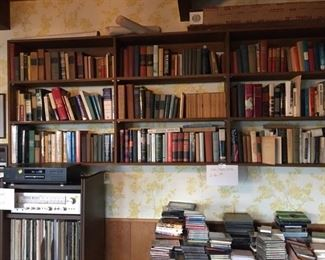 bookwall stereo