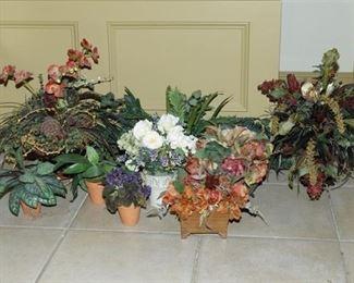 11. Artificial Decorative Plants