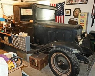 1930 Chevy Farm Stake Truck
