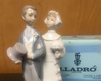 Lladro bride and groom