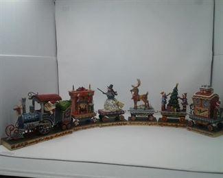 Jim Shore North Star Express Holiday Train