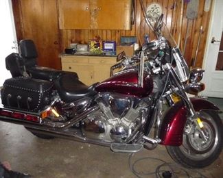 2006 Honda  model  VTX Type MC  - 1300 CC  -12,373 Miles . The owner was extremely  meticulous about taking care of it.