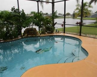 Pool Home in Immaculate Condition Located on Small Lake in Melbourne, Florida. 3 BR, 2 Car Garage...Modern & Exceptionally Clean Inside.  For Sale but Not ;listed Yet. We will pass names of those interested on to the Realtor.