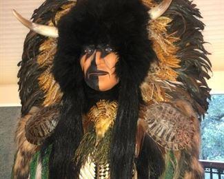 Ceremonial Spirit Native American Mask