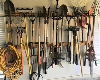 A WIDE VARIETY OF TOOLS