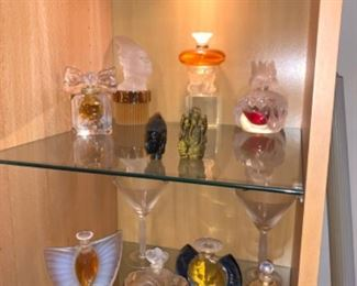 "Lalique Parfum in Lalique Hand cut Crystal Bottles: LE 1999 ""Jour Et Nuit""; ""Les Sirens""; ""Butterfly Factice"" LE 2003;  ""Phenix"" LE 2000; ""Sulphide"" LE 2000; other etc. $100-$300/ bottle, will take offersIf you are interested please text 312-933-5369 or 312-203-0342. We will text you PayPal and pick up instructions."