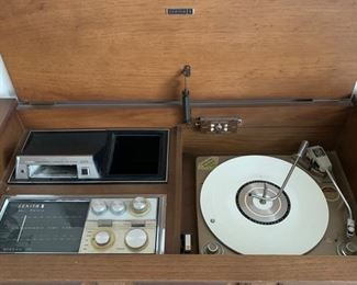 Another View - Radio and 8 Track work!