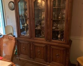 "Mid Century Modern ""FRANCESCA "" China Cabinet by "" DREXAL"""
