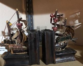 Boat Book Ends