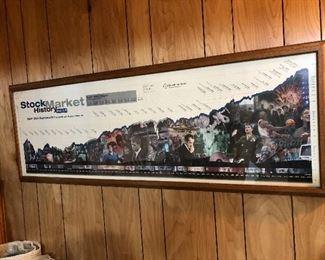 Stock Market History Poster