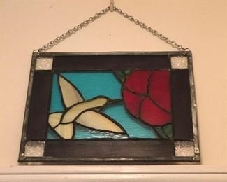 Original stain glass art made by local artist