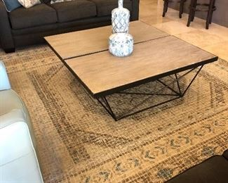 2 fabulous coffee tables love this look