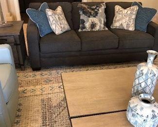 2 gorgeous sofas in family room