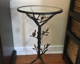 Small Metal Table w/ Leves