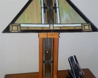 newer mission style lamp