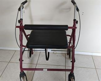 high end double wide walker, heavy duty
