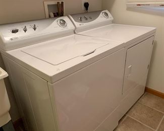Maytag Washer and Dryer - Heavy Duty , Commercial Quality, Oversize Capacity Plus, Auto Dry Control, Quiet Plus, Drum Light, 12 Cycles