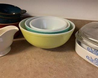 Pyrex and Corningware