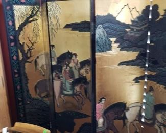 Great 6 Panel Chinese Screen Room Devider