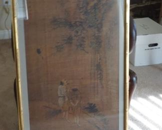 Old Chinese Scroll Paining.
