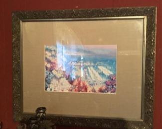 Framed picture