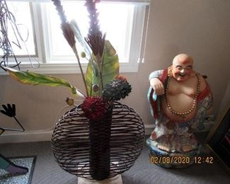 iNTERESTING OUTSIDER ART, AND HAPPY BUDDA