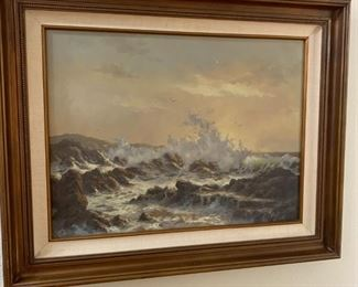 Robert Wee ORIGINAL and Signed Oil Painting