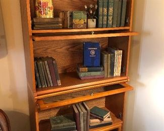 Barrister style bookcases