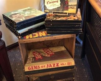 Early collection of vinyls and boxed sets