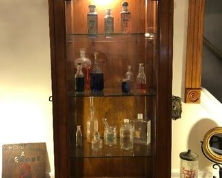 Glass bottle collection