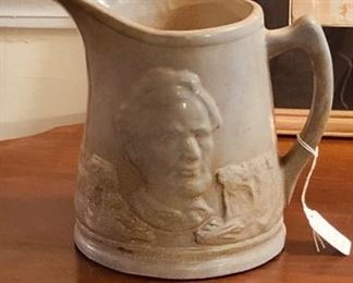 Abraham Lincoln water pitcher