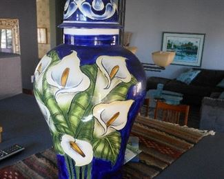 Unique Mexican vase.