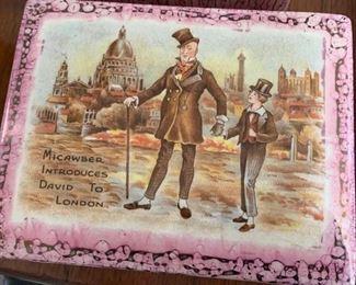 Trinket/Vanity box. (Sandland Ware- Landcaster & Bandland LTD. Hanley, England. )