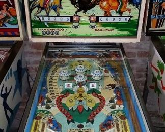 Bow and Arrow Pinball Machine and many more