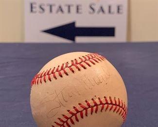 Stan Musial Signed Baseball