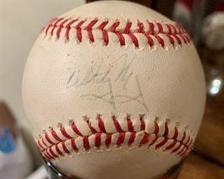 Whitey Herzog Signed baseball