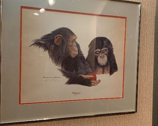 Richard Evans Younger pencil signed Lithograph - check ROGALLERY.COM for more information on this awesome piece!
