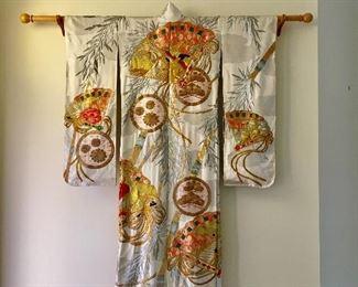 Japanese Furisode Kimono