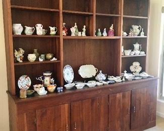 Custom made Bookcase - Porcelain - Pottery.....