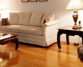 Clean  Non smoking home  Sofa is in great condition
