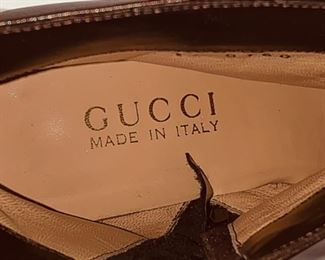 Gucci Pointy Ankle Boot Inside
