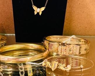 Gold Filled Bangles