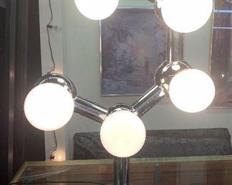 Eames Chrome Ball Lamp